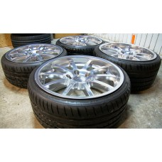 15 inch complete set BBS met michelin band